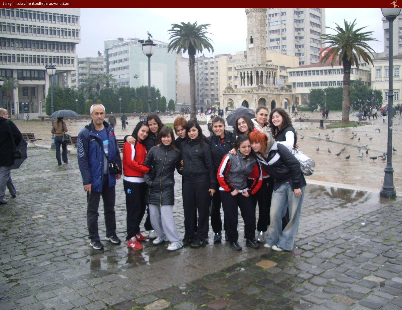 Kastamonu Üniversitesi Bayan Hentbolcular İzmirde,hentbol,bayan hentbol,kastamonu ünv bayan hentbol