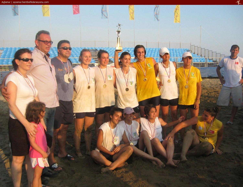 Alanya Plaj Şampiyonu,plaj hentbolu,plaj handball