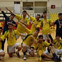 Genç Erkekler Türkiye Şampiyonu Cent Koleji