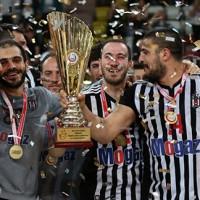 Erkekler Türkiye Kupası Beşiktaş Mogaz´ın
